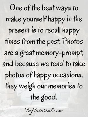 Reflecting On The Past Quotes