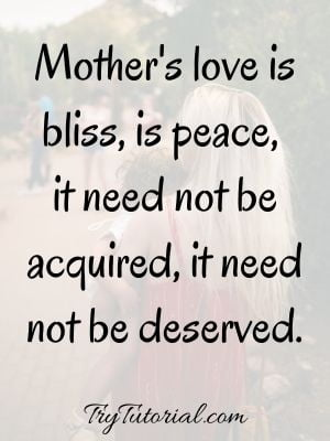 Relationship Quotes On Mother Son Bonding