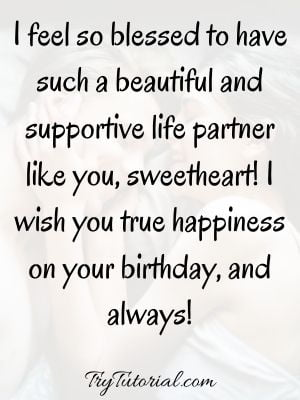 Romantic Birthday Love Quotes For Wife