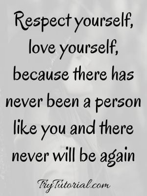 Self Love Quotes For Men