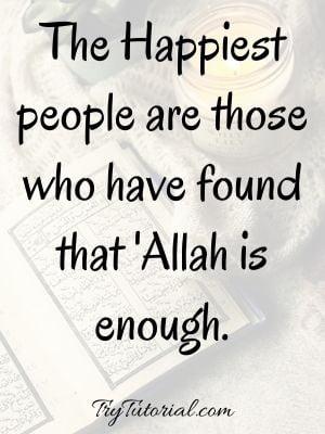 Short Islamic Inspirational Images