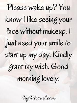 Flirty Good Morning Texts For Him
