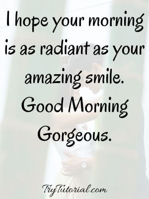 Best 50+ Cute Good Morning Text Messages For Him To Start His Day [currentyear] 1