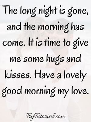 Sweet Morning Text For Him