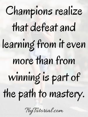 Think Like A Champion Quotes
