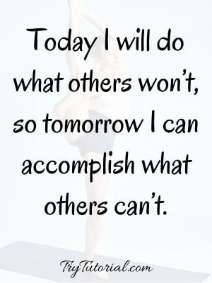 Tuesday Motivational Workout Quotes