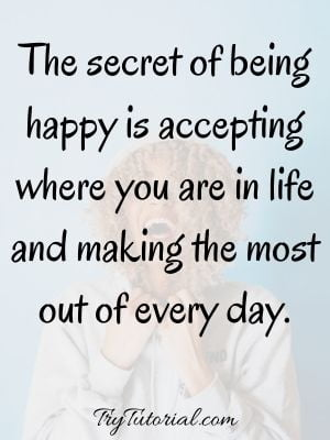 Be Happy With Yourself Images