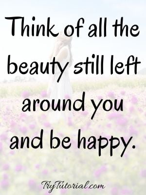 Be Happy With Yourself Quotes