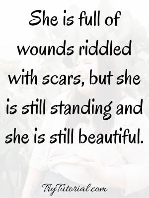 Beautiful Woman Confident Quotes