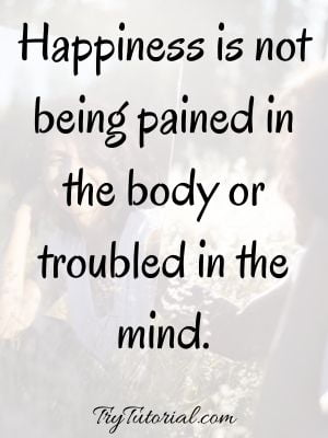 Being Happy With Yourself Sayings