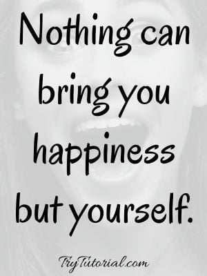 Best Be Happy With Yourself Images