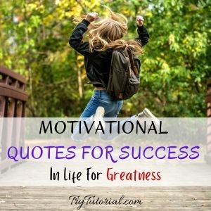 Best Motivational Quotes For Success