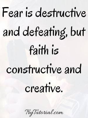 Best Power Of Faith Quotes Images