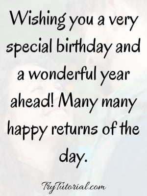 Birthday SMS For Her