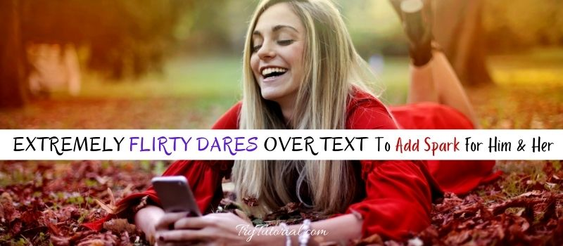 Flirty Dares Over Text