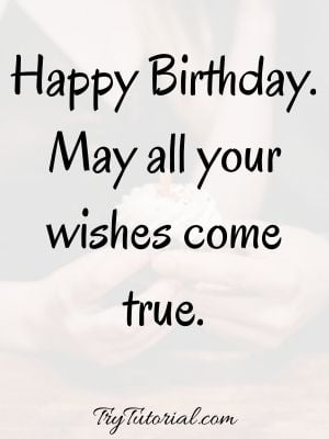 Happy Birthday Wishes SMS For Her