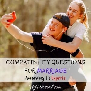 Compatibility Questions For Marriage