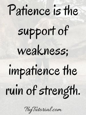 Motivational Funny Patience Quotes