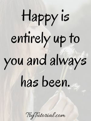 Quotes About Be Happy With Yourself