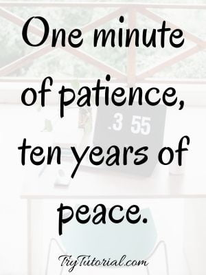 Quotes For Time And Patience