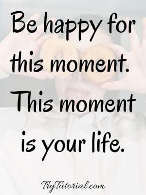 Short Happy Life Quotes
