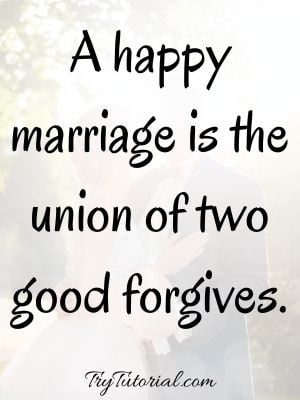 Short Marriage Quotes And Sayings