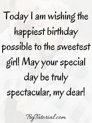 Special Happy Birthday Quotes For Her