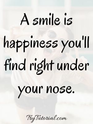 Top Quotes About Happiness And Smiling