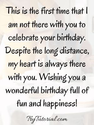 birthday wishes for best friend far away