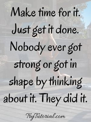 motivational quotes for exercise