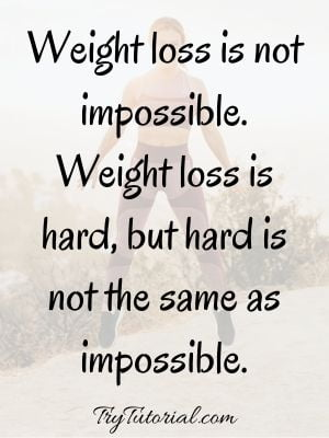 never give up weight loss quotes
