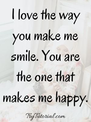 thank you for making me smile quotes
